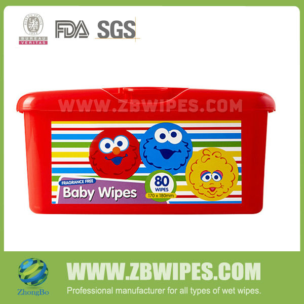 Perfume Free Baby Fresh Wipes Wet Napkin for Babies