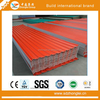 Colored Galvalume Corrugated Steel Sheet for Roof Tile of mainland
