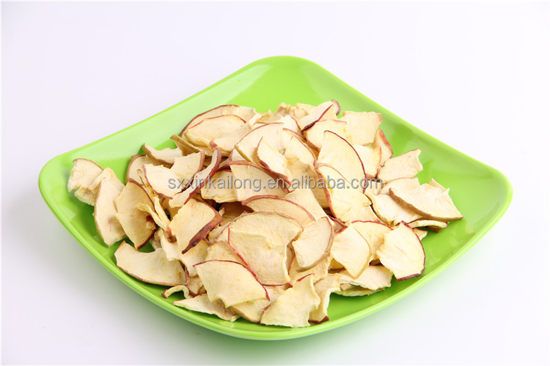 2016 New Chinese dried apple fruit dried sliced apple