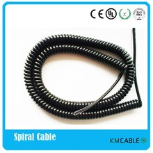 Factory selling coiled extension spiral cord