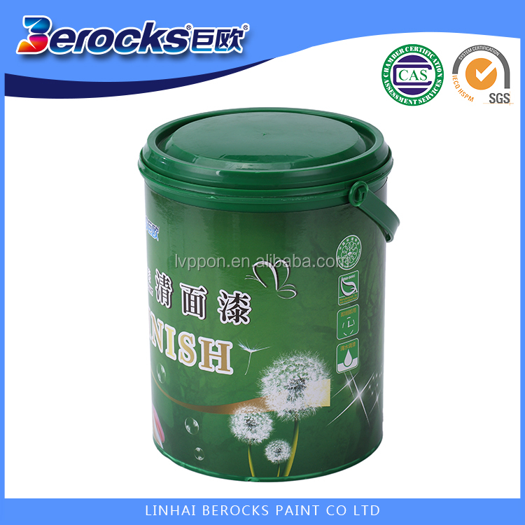 High safety Certificated Water based Custom color Finish Paint for children