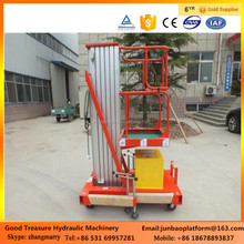 Mobile hydraulic lifter single column lifting equipment aluminum alloy lift