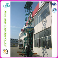 4 wheels sky mobile lifting platform / scissor lift table