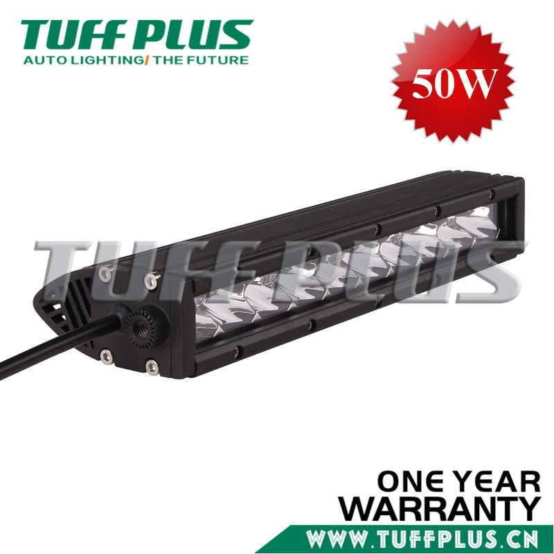 On sale 2015 new product single row led bar 11inch led light bar 50W offroad light bar