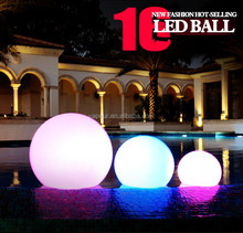 LED light ball 16 colors change LED ball for Garden/courtyard/wedding decoration