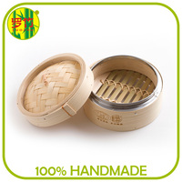 Popular Commercial Round Mini Bamboo Steamers Wholesale