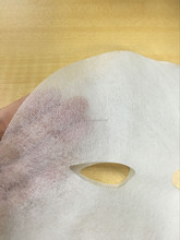 Cosmetic Skin care whitening natural silk female face mask