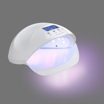 New 50w led uv gel lamp Painless model uv led nail lamp with 30S,60S and 90s
