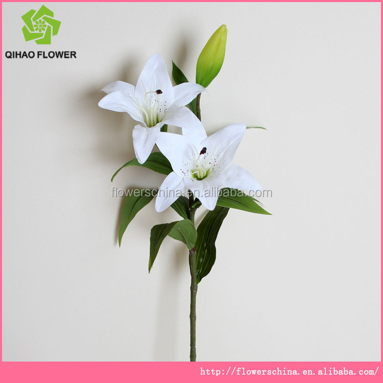 factory direct cheap price china plastic flowers artificial tiger lily