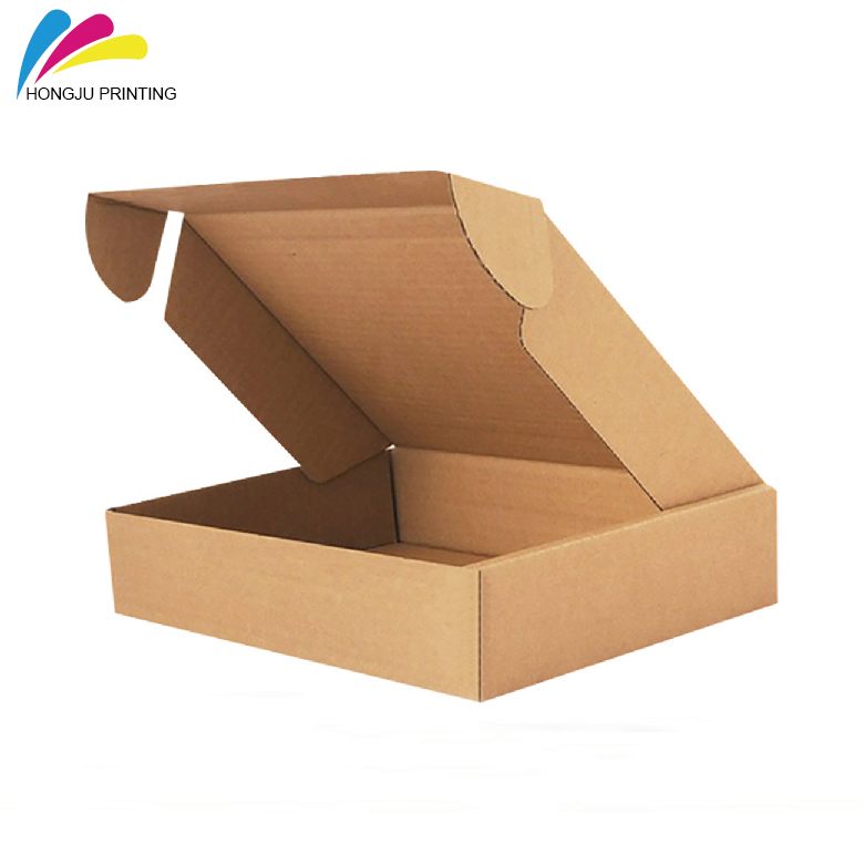 no printing luxury kraft corrugated mailer <strong>box</strong>