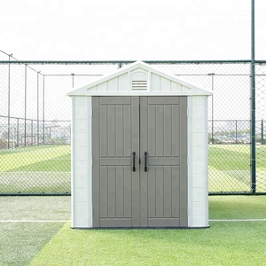 Safe Plastic Outdoor Garden Storage Shed Tool Utility Patio Design