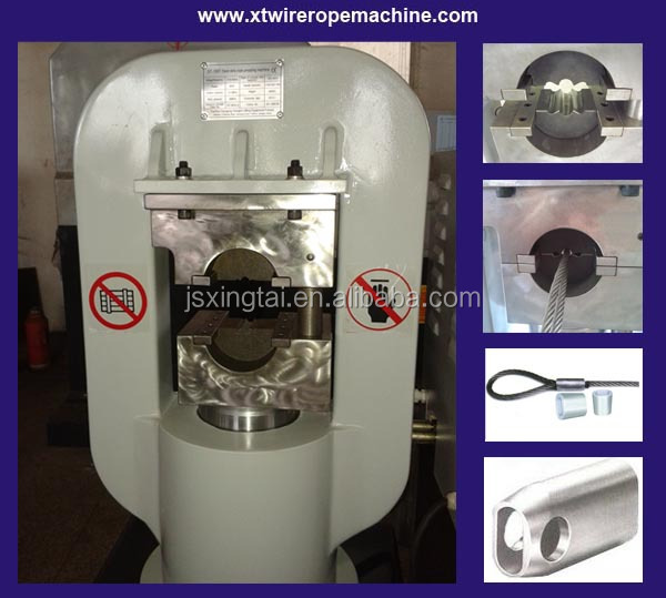 cable swaging machine