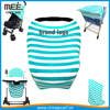 stretchy rayon material and baby carrier type baby car seat cover canopy