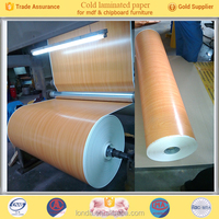 hot sale wood grain decorative laminated paper