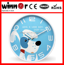 10 inch plastic wall clock,kids clock pictures,kids clock