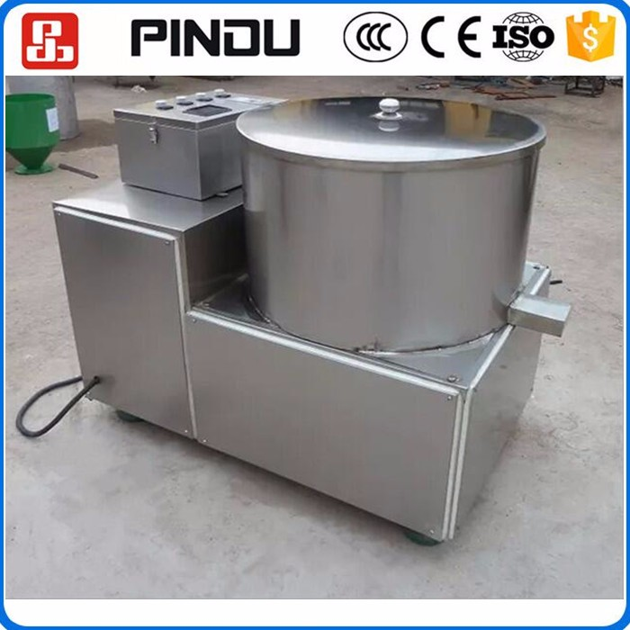 Industrial automatic frozen potato chip hash brown maker french fries frying making machine production line