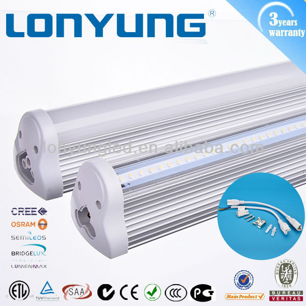 Governement project commercial residential EZ-mount fixture 5ft led tube lighting t8