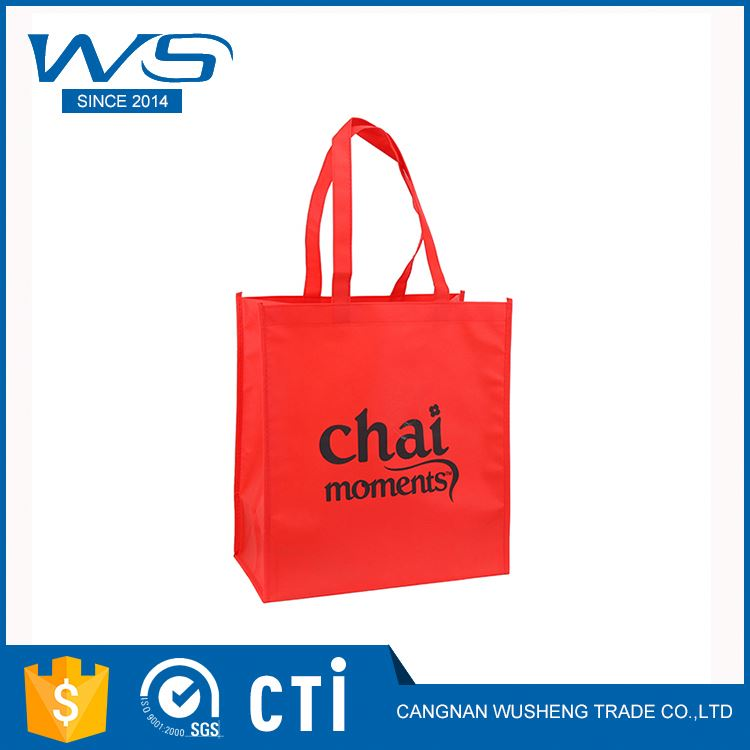 Factory directly sale good quality promtional clear blank non-woven tote bags