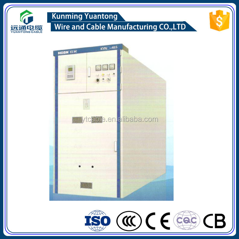 Power distribution equipment KYN series metal clad high voltage (HV) electric switchgear 40.5kV