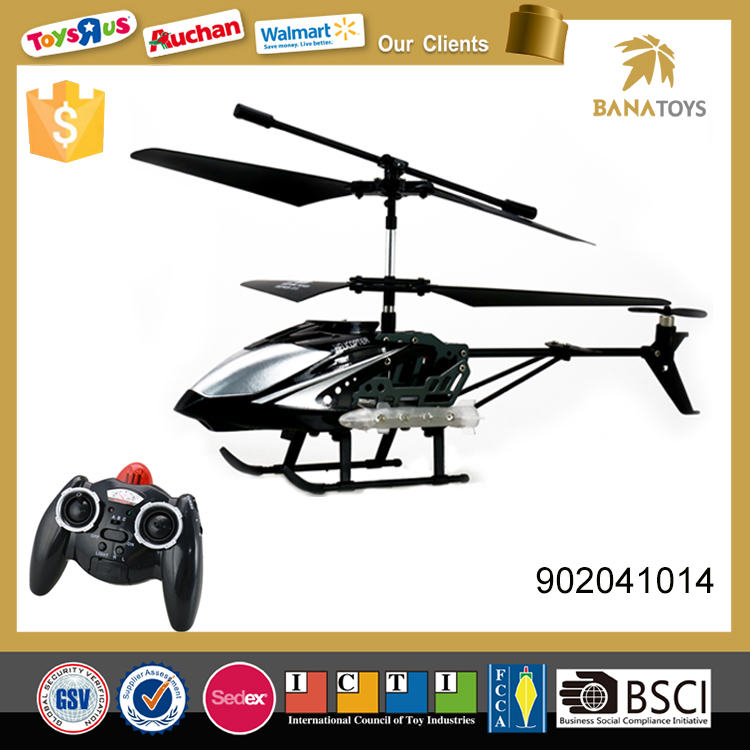 Battery operated alloy 3 channel 3.7v rc helicopter