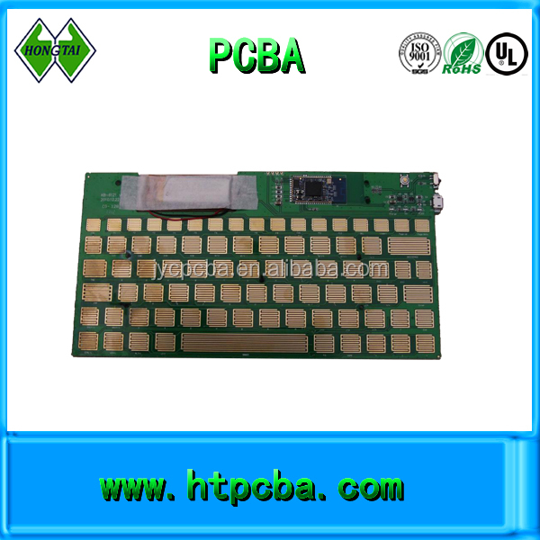 bluetooth keyboard pcba for tablet PC,immersion gold pcba assembly