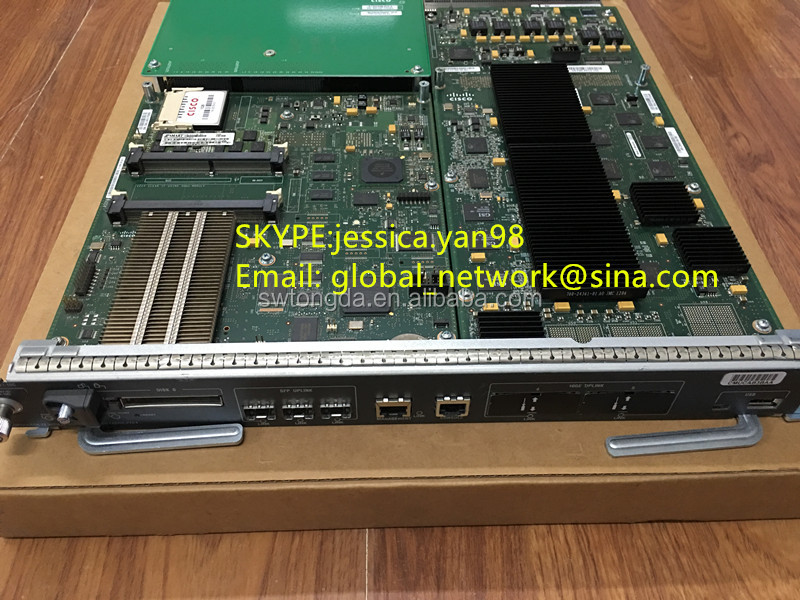 Used Cisco 10 gigabit module VS-SUP2T-10G VS-S2T-10G