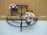 Powder coated flower pots