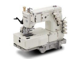 KANSAI SPECIAL DFB SERIES - FLATBED MULTI NEEDLE DOUBLE CHAIN STITCH MACHINES