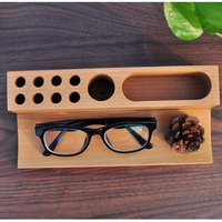 High quality Eco-friendly wood mobile phone holder for desktop