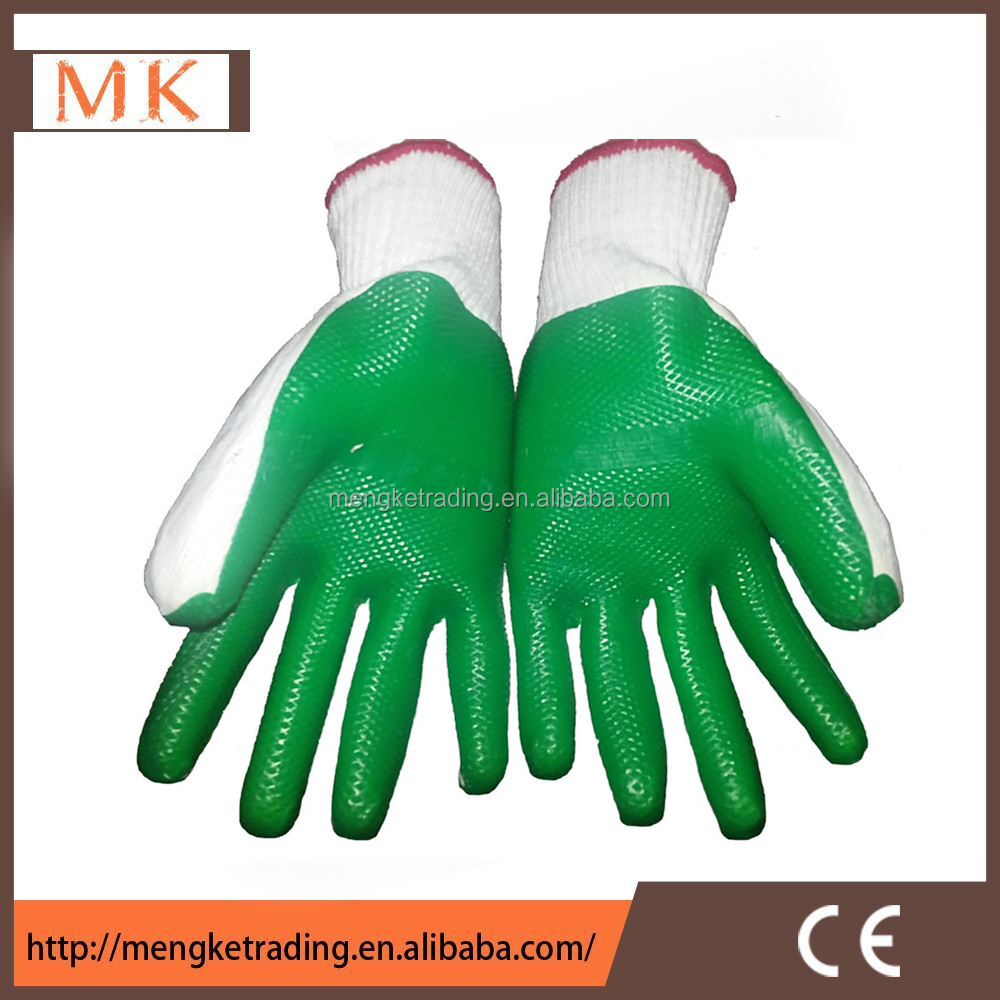 cut resistant latex safety glove for glass work
