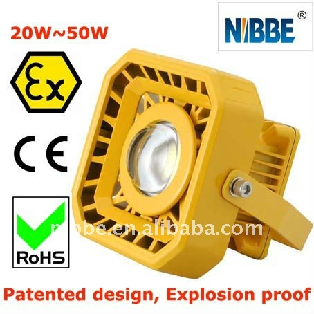 Oil field flame-Proof LED Light 20-40W