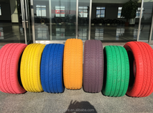 colored car tires
