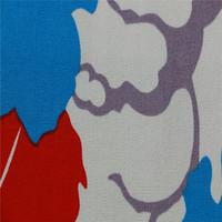printed 100% cotton canvas fabric