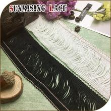 high quality rayon chainette tassel fringe for dresses
