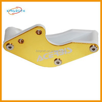 Yellow CNC aluminum alloy pitbike/ dirt bike chain protect bicycle chain guard