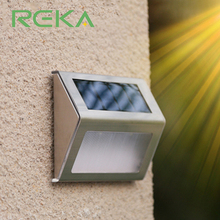 High Quality Waterproof Step Light Solar Led Wall Light for Outdoor