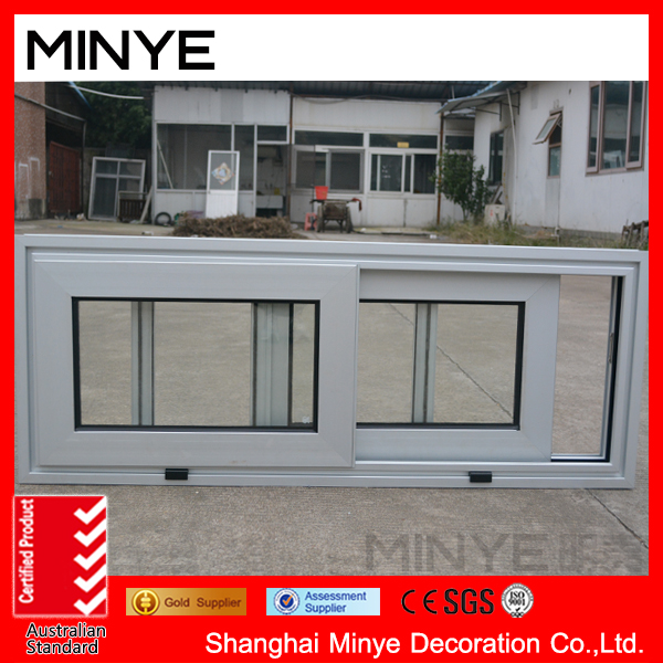 thermal break aluminum alloy white color sliding window