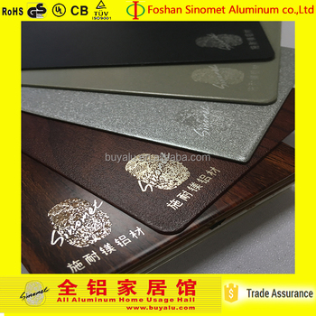 2017 high quality colour coated aluminium sheet with warranty period