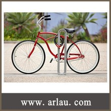(BR-003) Cast Aluminum Park Bicycle Stand
