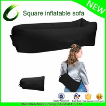 Fast Inflatable Portable Outdoor or Indoor Wind Bed Lounger Air Bag Sofa, Nylon Fabric Bean Bag, Air Sleeping Sofa Couch