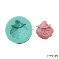 Pumpkin Face Shape Silicone Fondant Gum Paste Tools Cake Decorating Halloween tools