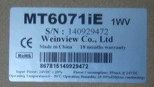 New version Weinview 7 inch hmi MT6071IE full replace mt6070ih