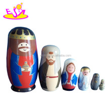 2015 custom matryoshka dolls for kids,custom matryoshka dolls for children,Cheap custom matryoshka dolls toy for baby W06D037