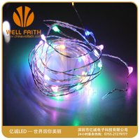 CE/UL/BS/ROHS Approved Low voltage warm white LED coper wire string lights