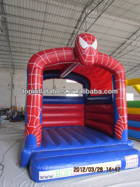 Durable inflatable flying man bouncer,inflatable jumping house