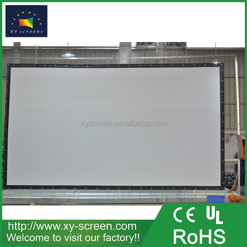 XYSCREEN 100 Inch High Quality Portable HD Home Theater Projection Screen Projector Curtain