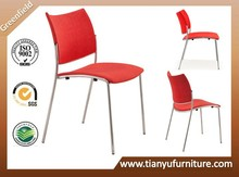 red chair office meeting chair small comfortable chair