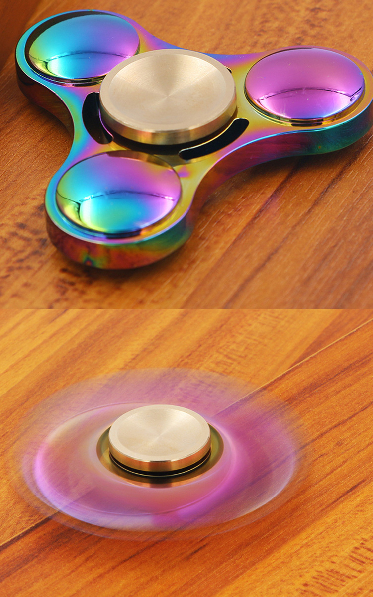 Factory Direct Supply Toy Finger Fidget Hand Spinner Hand Toy Metal For Audlts