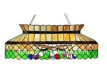 glass billiard lamp shade