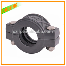 "flexible type 8"" DN200 219mm flat face hydraulic quick couplings for pipe fitting with Best Service"